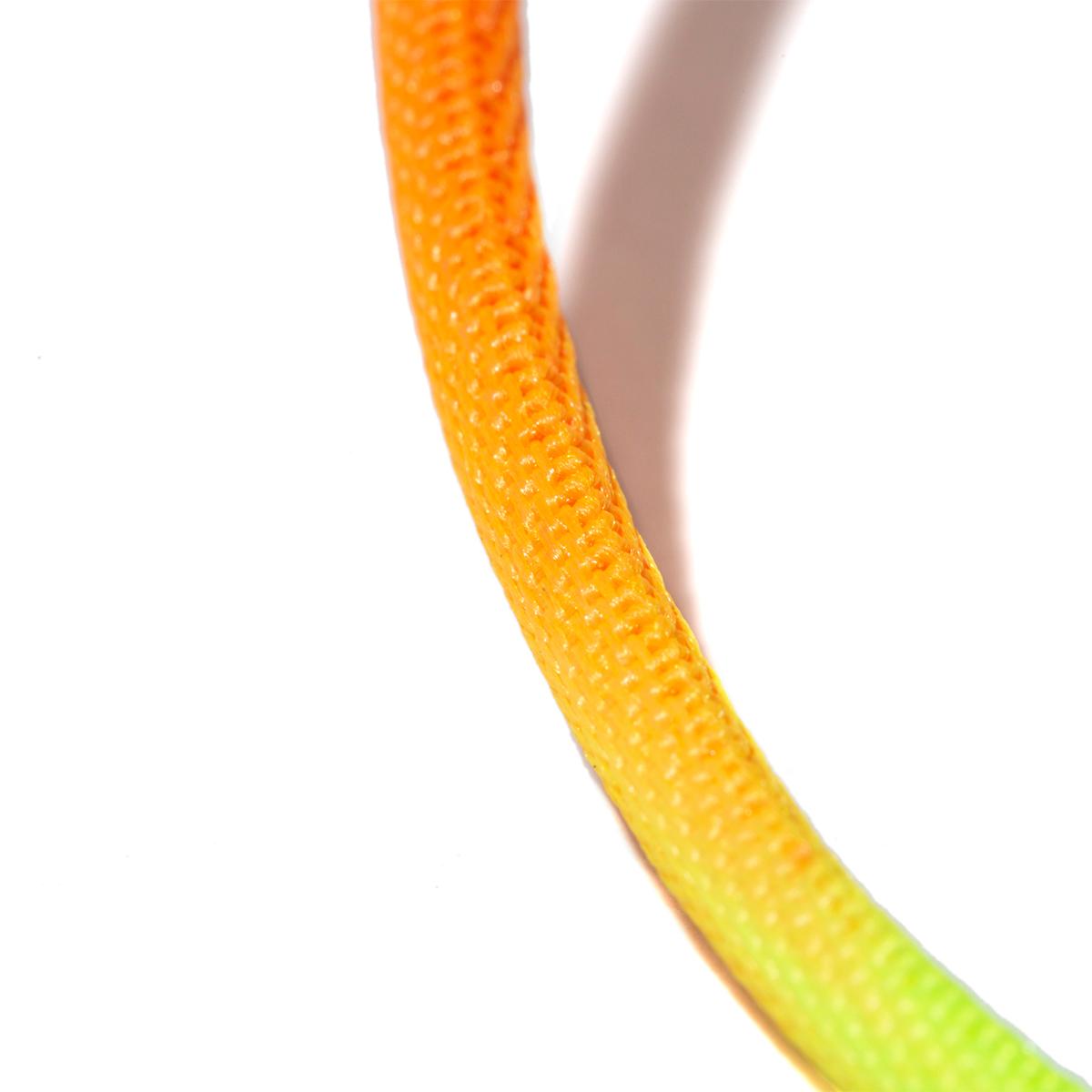 絡まりにくい構造。断線しにくく丈夫、ひと目でわかる存在感の「Lightning USBケーブル」| addip