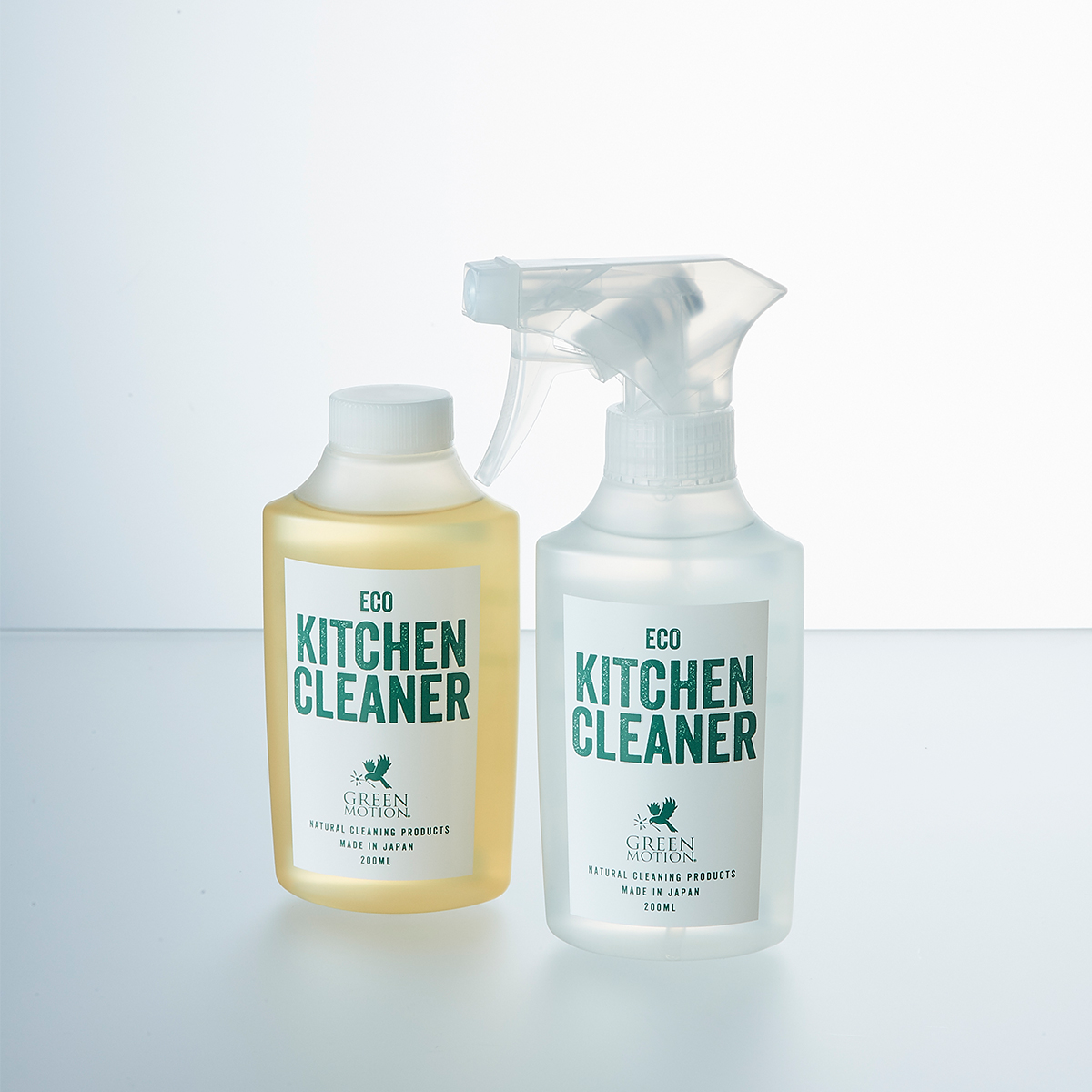 天然ヒバの香りで、除菌・消臭も。洗剤なのに、スプレーして拭くだけ!ヒバ精油配合で除菌・消臭もできる「エコキッチンクリーナー」|GREEN MOTION