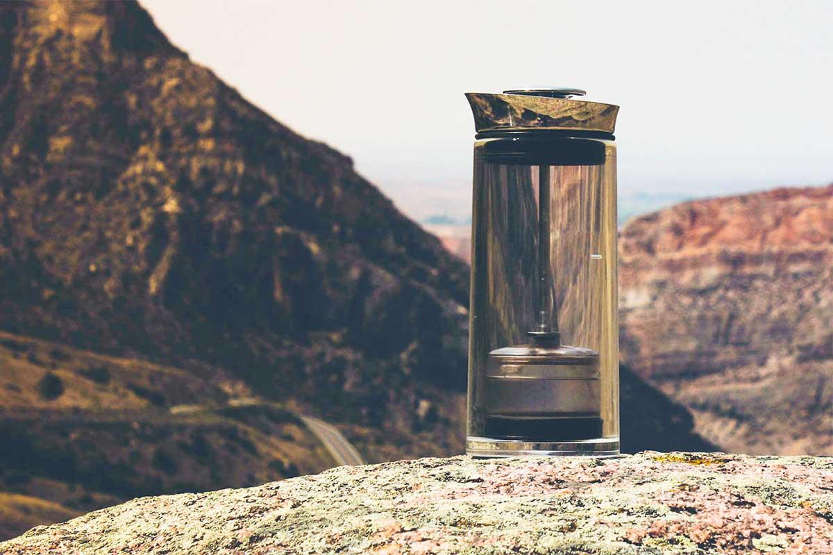 押すだけなのに、手淹れ級の味わいのコーヒーが淹れられる、コーヒープレス(フレンチプレス・コーヒーメーカー)American Press(アメリカンプレス)