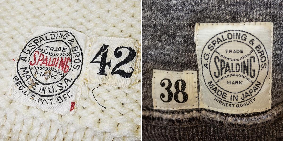 ネームタグ|スポルディング社の銘品から再構築されたぬくもり!アウター感覚の風合いやわらかな「サイドラインパーカ」|A.G. Spalding & Bros