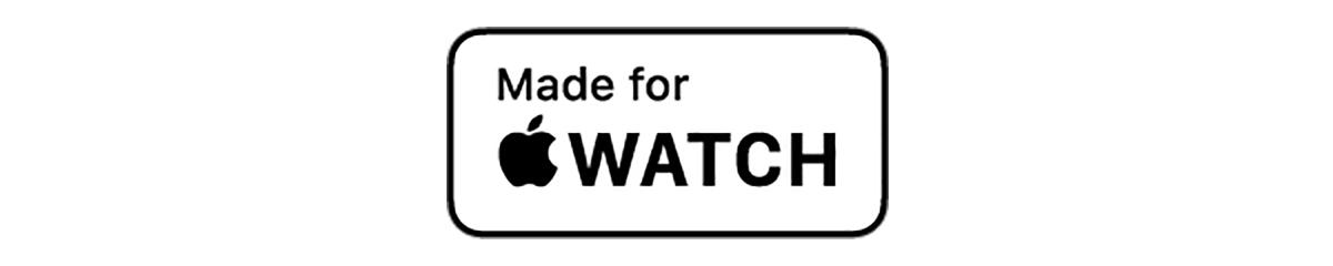 安心して使える「MFi認証」マーク|Apple社が定めた性能基準を満たす「MFi認証」済みの製品(Apple公式認定品)「ワイヤレス充電ベース」Base Station(Apple Watch Edition)| NOMAD