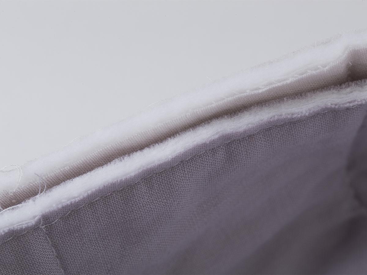 医療用の脱脂綿を高密度ガーゼで包んだ、触れた瞬間に水を吸い上げる吸水力の高いタオル(ハンドタオル)|YARN HOME