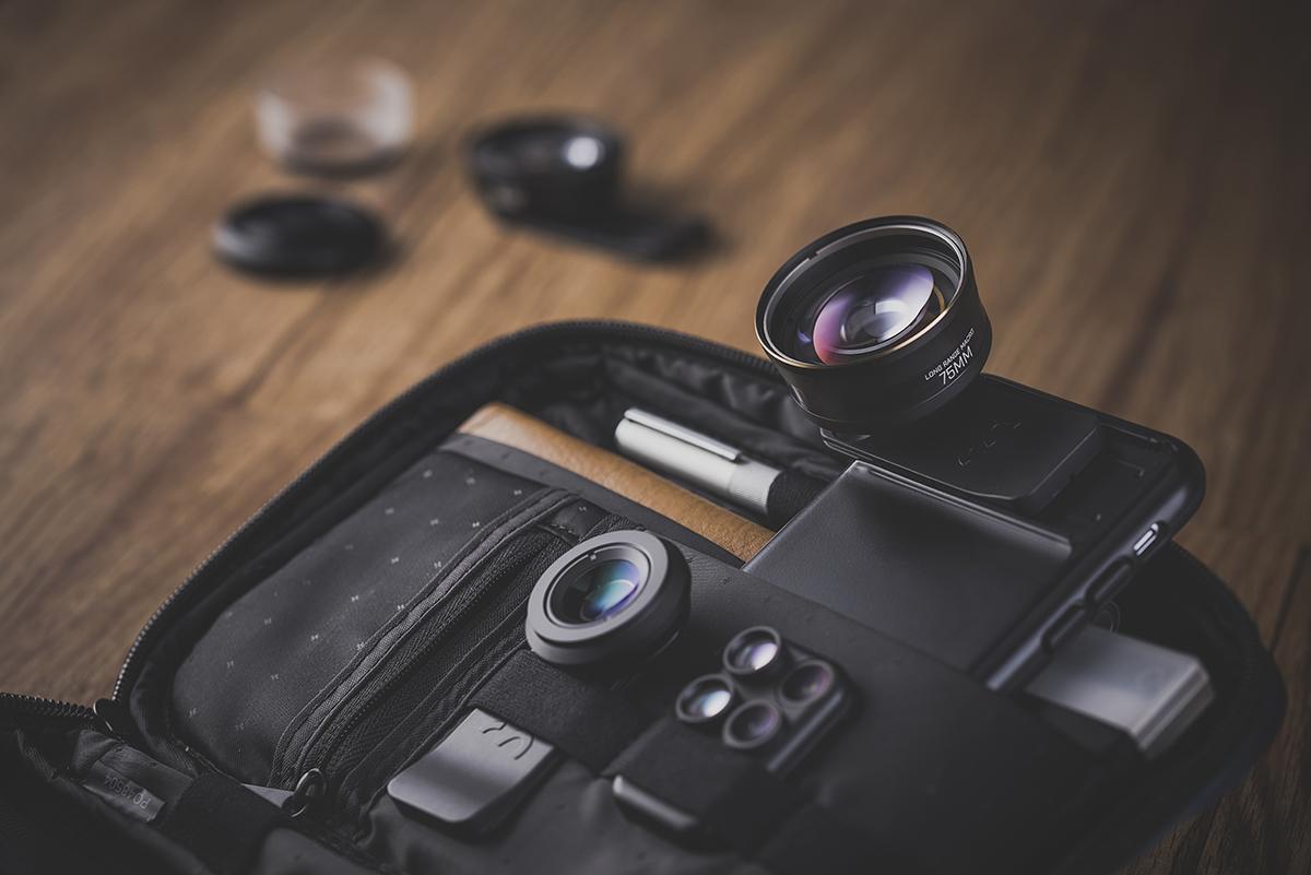 iPhoneで遠くの被写体を、歪みなく綺麗にズーム撮影できるレンズ。6種類のレンズを装備したiPhoneケース(望遠レンズ) | ShiftCam 2.0