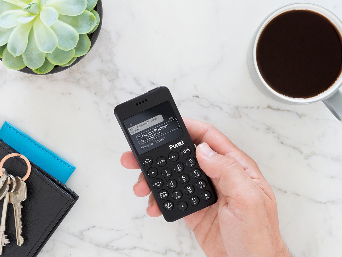 携帯電話・ミニマムフォン|Punkt.(プンクト)