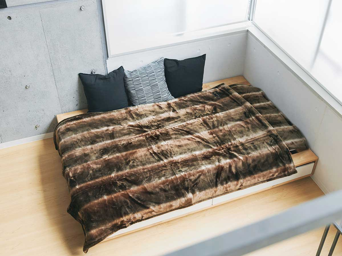 シリーズ最新作の「サーモ2020ウルトラソフトGR」の発熱繊維を採用。暖かさはもう当たり前、軽さとなめらかさも実現した「毛布」|CALDONIDO NOTTEⅡ(カルドニード ノッテ)
