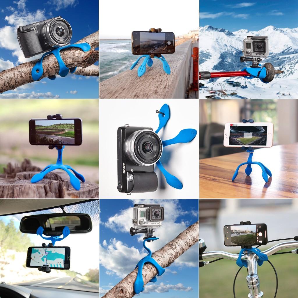 屋外室内問わずどこでもがっちりスマートフォンを固定してくれる|「miggo」のスマホ&カメラ用スタンド|スマホアクセサリーで快適なモバイルライフを。スマホがもっと便利になるおすすめグッズをご紹介