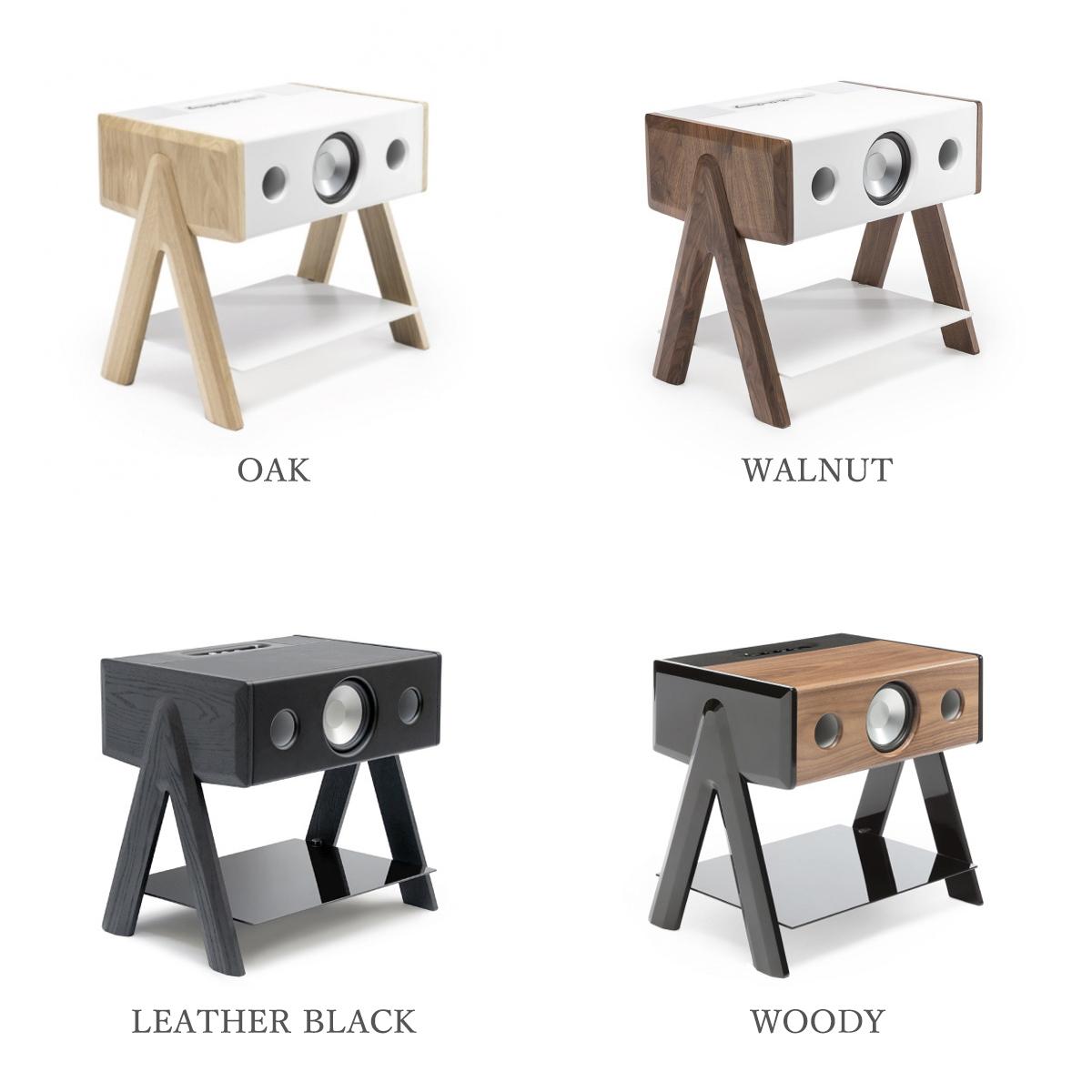 洗練されたデザインは、世界的なデザイン賞「レッド・ドット」を受賞した、サミュエル・アコセベリー氏によるもの。美しい家具のような高級スピーカー・オーディオ家具|La Boite Concept CUBE(ラ ボアット コンセプト キューブ)