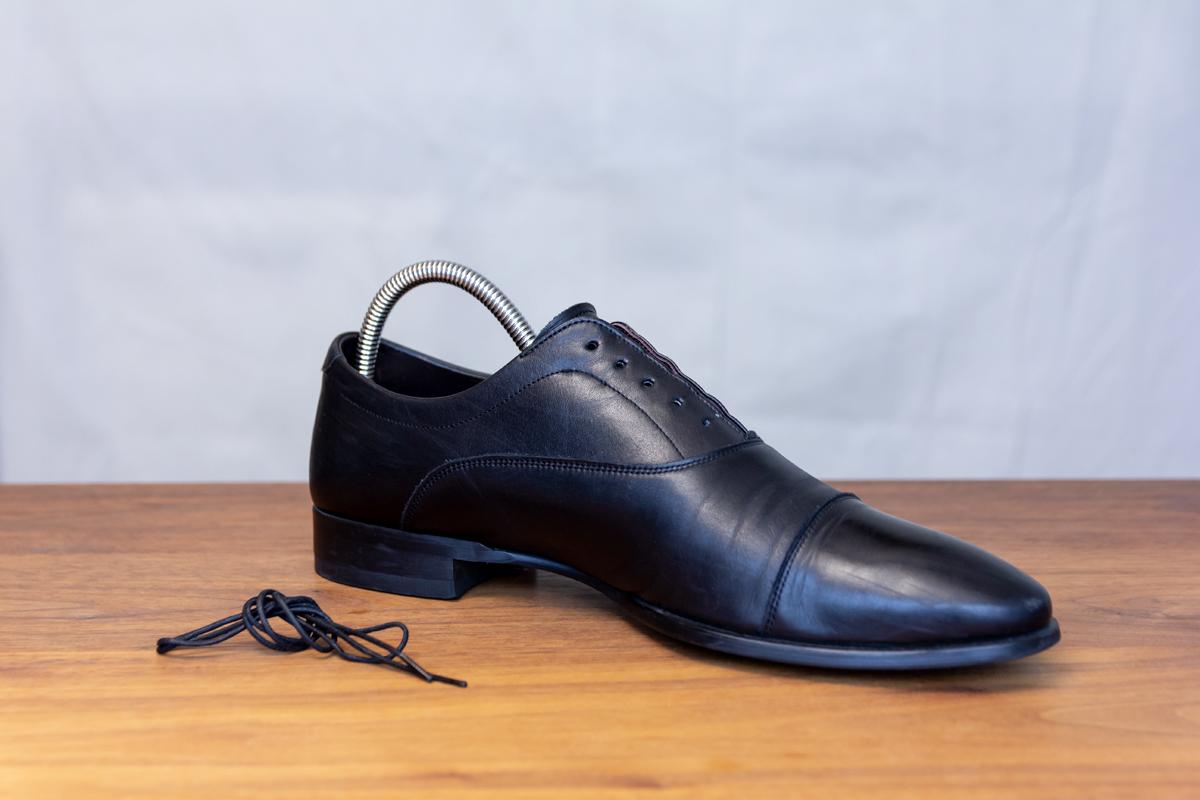 無理しない靴のスキンケア方法(お手入れ方法)1。プレミアム靴クリーム| 三陽山長