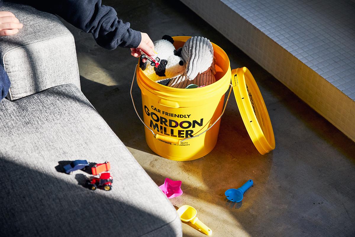汚れた園芸用品やDIYの工具、お子さんの玩具にもおすすめ。車用品のオートバックスから生まれたプロ仕様。スタイリッシュでオシャレな気分が上がる掃除道具。カー用品のオートバックスから生まれた『GORDON MILLER』(ゴードンミラー)