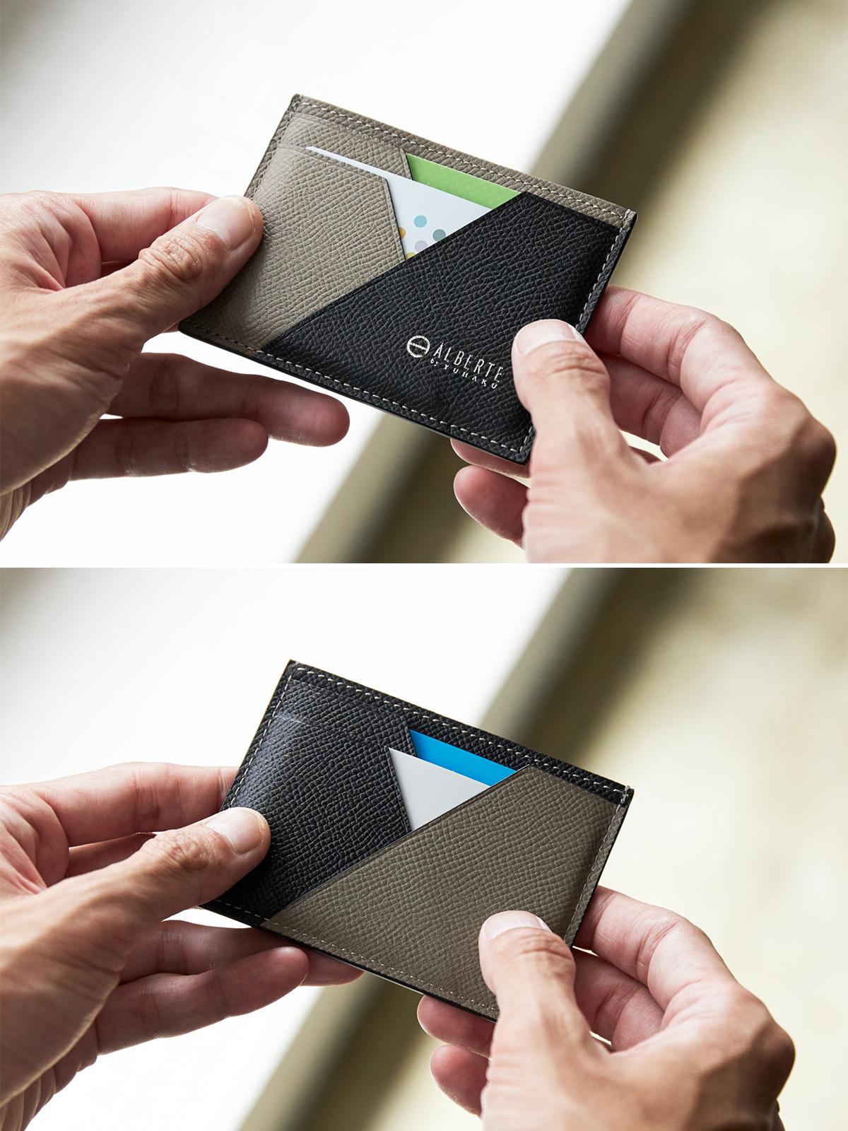 思考も所作もスマートになるコンパクトな財布。無理なくミニマムを極めた、「薄い財布」の傑作(長財布、二つ折り財布、パスケース、カードホルダー)|ALBERTE