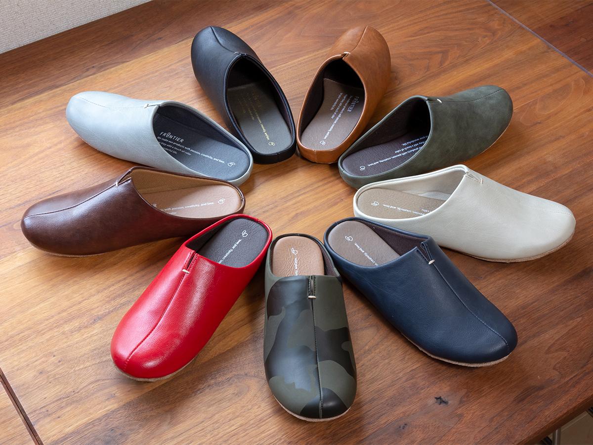靴の製法、「釣り込み」の技術で立体成型し、履きやすさと美しさを叶えた「スリッパ」|room's