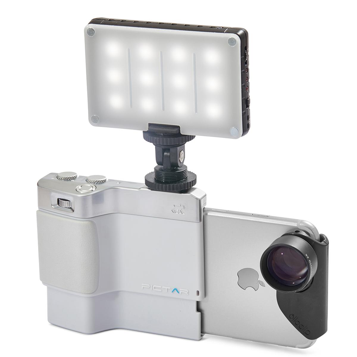 コールドシュー対応の綺麗な写真を撮りながら、写真の楽しさが学べるカメラグリップ(iPhone全機種対応) | PICTAR