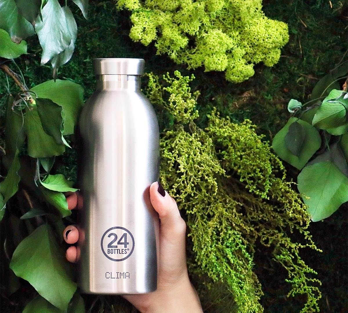 資源の無駄遣いを防ぐ、スタイリッシュなマイボトル|24BOTTLES