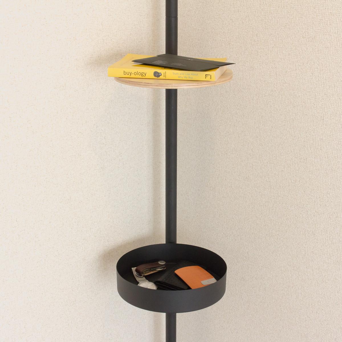 ロッカーセット|1本の線(ライン)に、鍵もバッグも指定席ができる「つっぱり棒」|DRAW A LINE