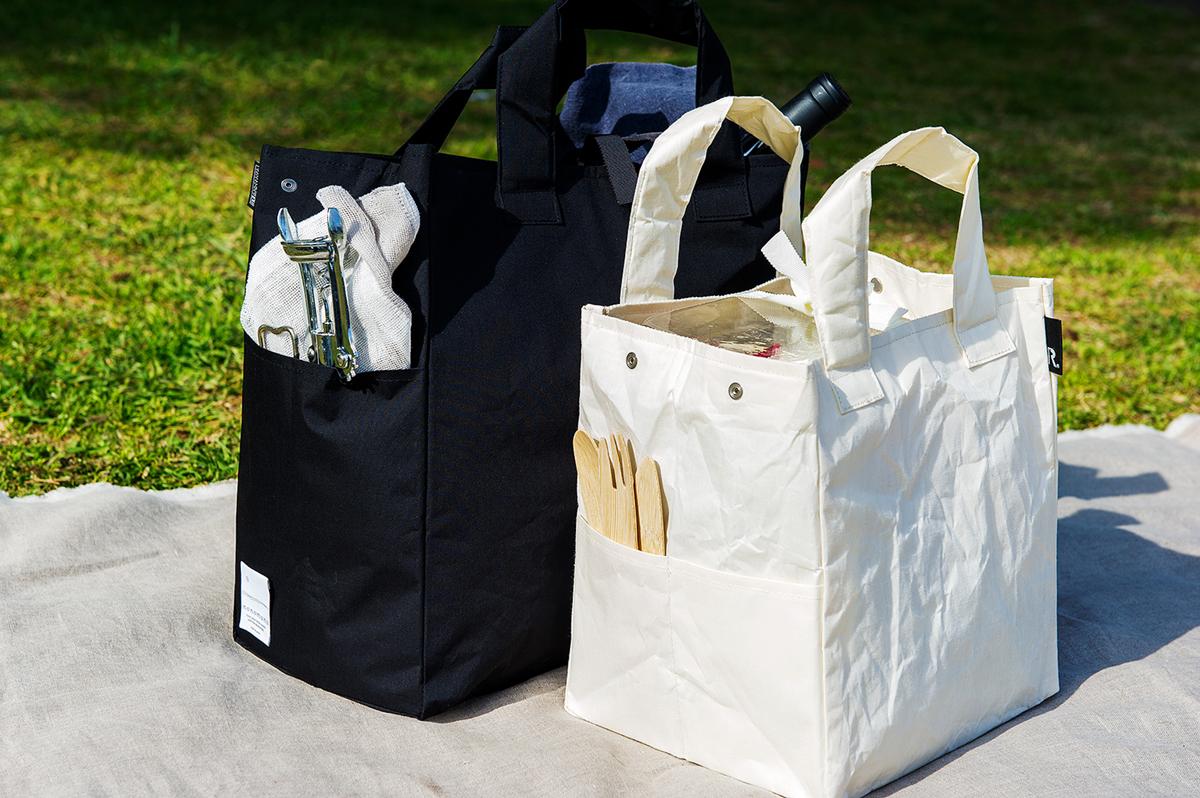 大人の雰囲気漂うアウトドア用のおしゃれなゴミ袋・ゴミバッグ|ROO Garbage(nonomana)- ポケット