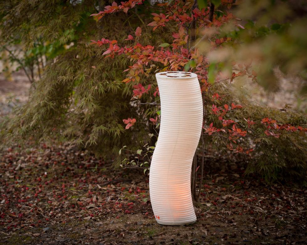 日本の伝統文化の明かりでモダンなリラックス空間を作る 提灯型ランプ(インテリア ライト 照明)| 松 - 鈴木茂兵衛商店 SUZUMO CHOCHIN(すずも提灯)