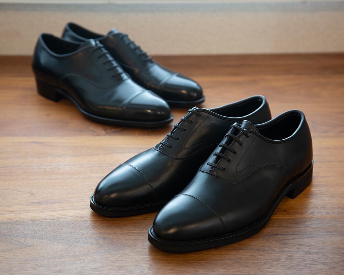 数万人の足型から生まれた紳士靴。雨水が染み込まない、継ぎ目なしの防水構造。まるで革靴のような気品漂う「レインシューズ」|三陽山長