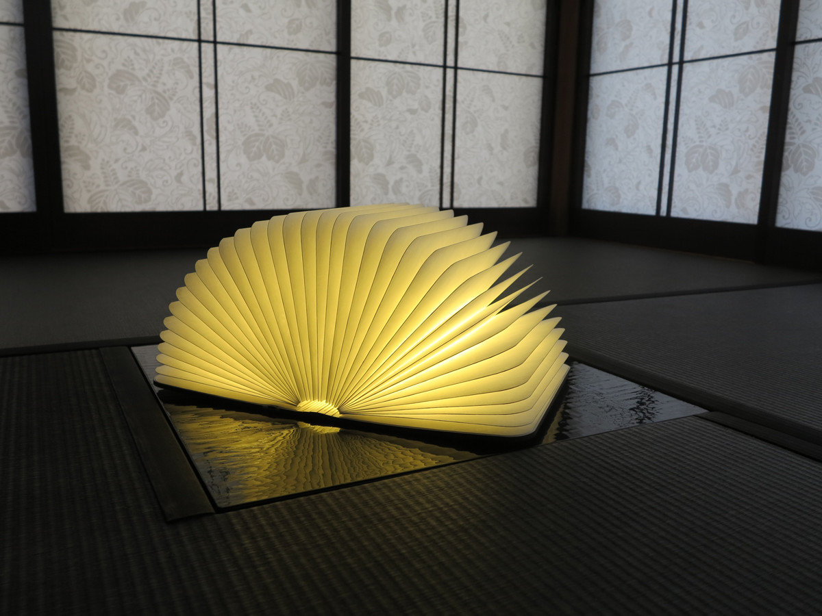 LEDの光がおしゃれなブックライト lumiosf ルミオ