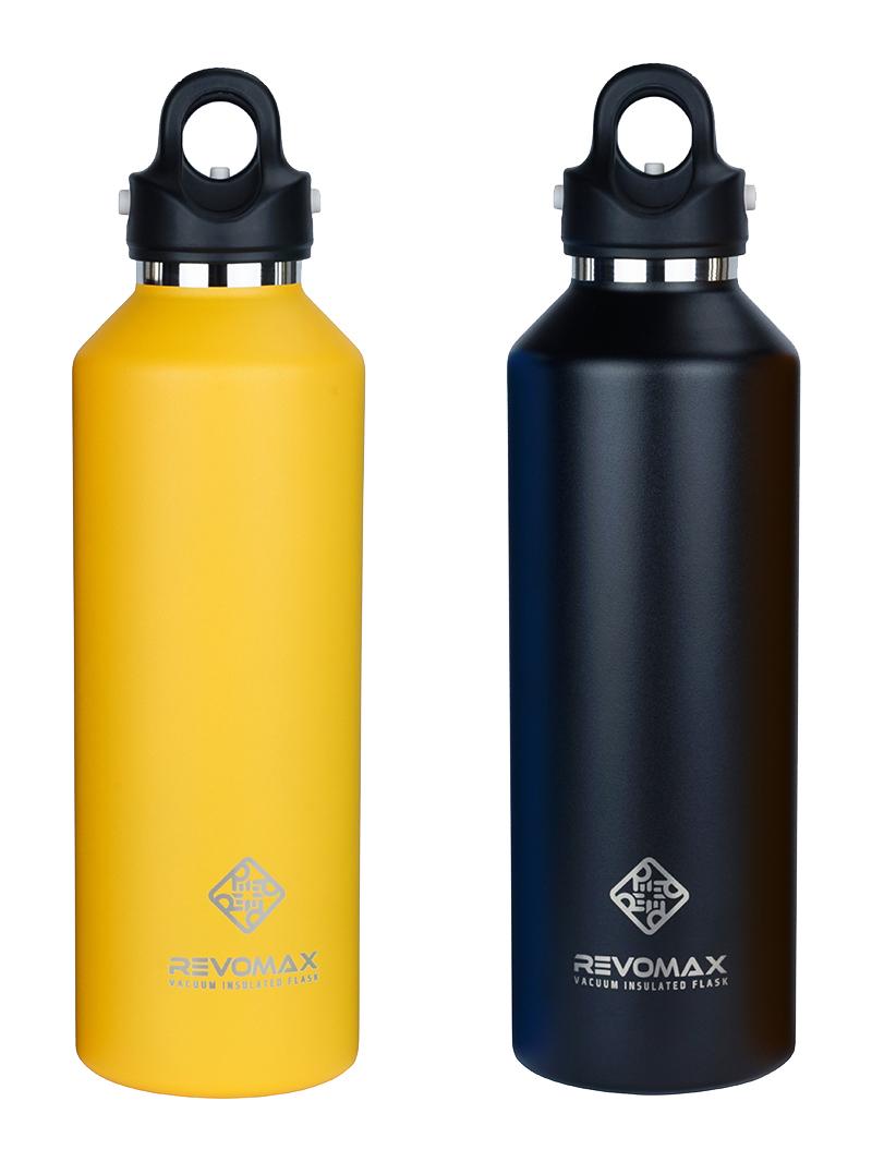 毎日使いやすいサイズ。炭酸もビールも36時間保冷、保温も18時間OKの「マイボトル」|REVOMAX(レボマックス)