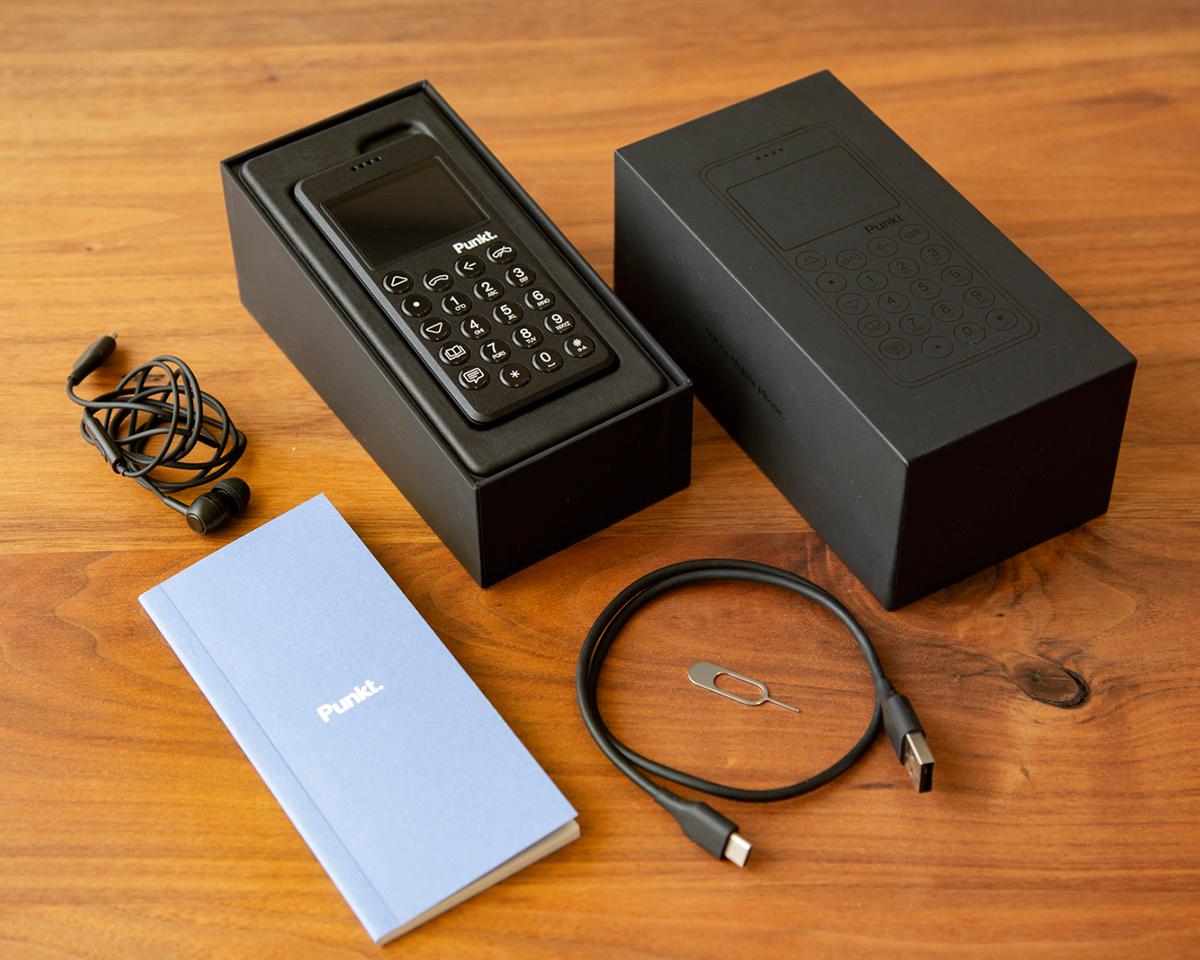 1回の充電で12.5日間ほど駆動する、持ちの良いバッテリーの携帯電話・ミニマムフォン|Punkt.(プンクト)