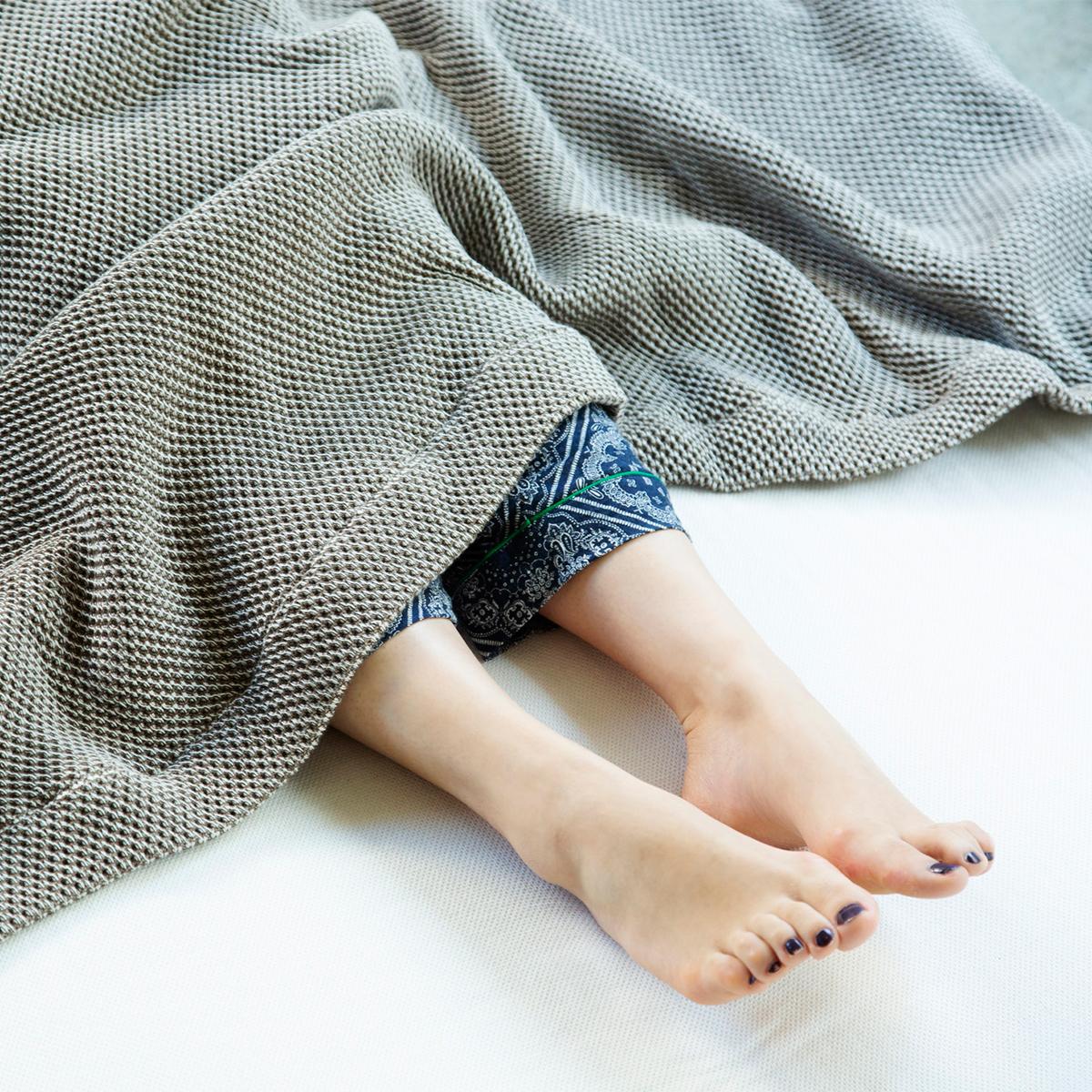 「熟睡」を追求した凹凸状のハニカム織りのハニカムケット(ワッフルケット)