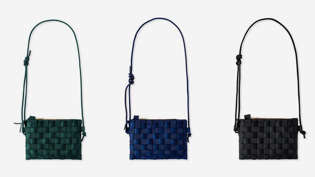 古代の「編む」という発明と知恵が、モダンな姿になった「ショルダーバッグ」| PACK
