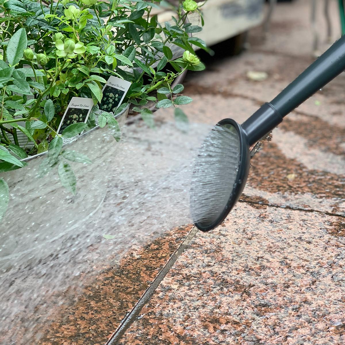 面倒だった植物への水やりが、ジョウロ一つで、楽しみに変わる。植物にやさしい、繊細な雨のような自然な水流のジョウロ|Royal Gardeners Club