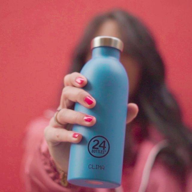使うたびに80gのCO2を削減できる。毎日持ち歩きたくなる、色柄豊富なイタリアンデザインのマイボトル|24Bottles(トゥエンティーフォーボトルズ)