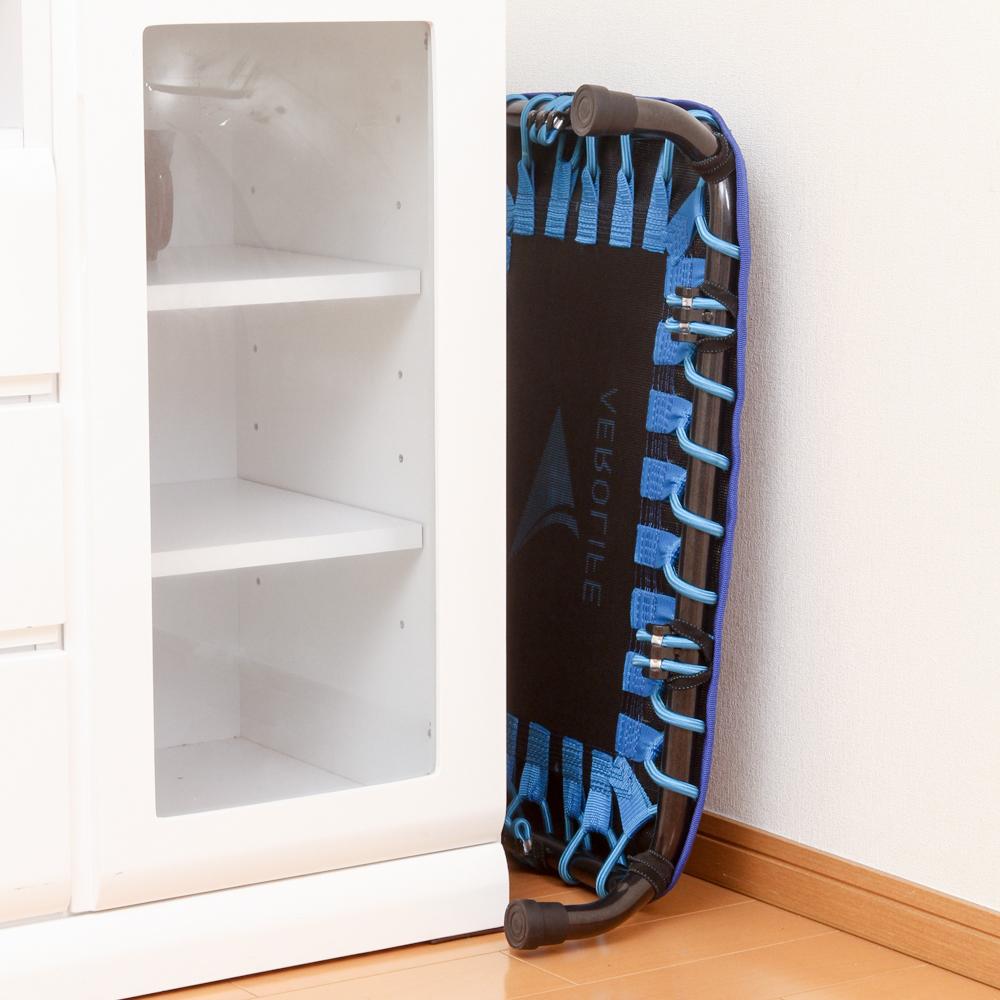 家での運動習慣を身につけられる。置き場所に困らない。ミニサイズのトランポリン「ミニジャンパー」|AEROLIFE(エアロライフ)