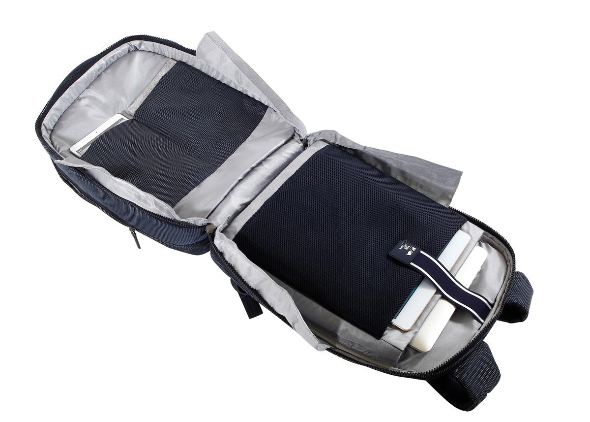 大容量の荷物をフルフラット収納でスッキリと。出張や旅行に使える、スタイリッシュでお洒落なバックパック|NAVA