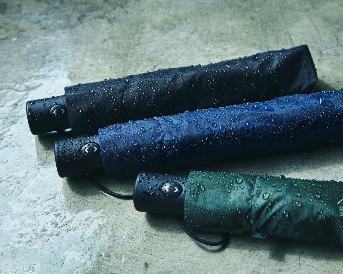傘を楽に閉じられる感動体験を!折りたたみ傘へ求める機能に、ここまで気持ちよく応えてくれる傘「ワンタッチ開閉式折りたたみ傘」|VERYKAL