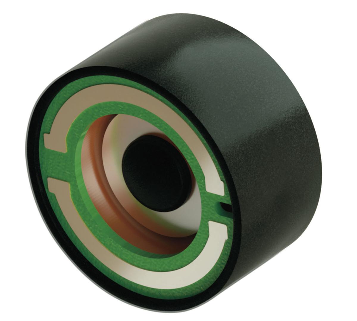 振動を発生させるための磁気を正確にコントロールするために開発された、円柱状の振動デバイス|docodemoスピーカー
