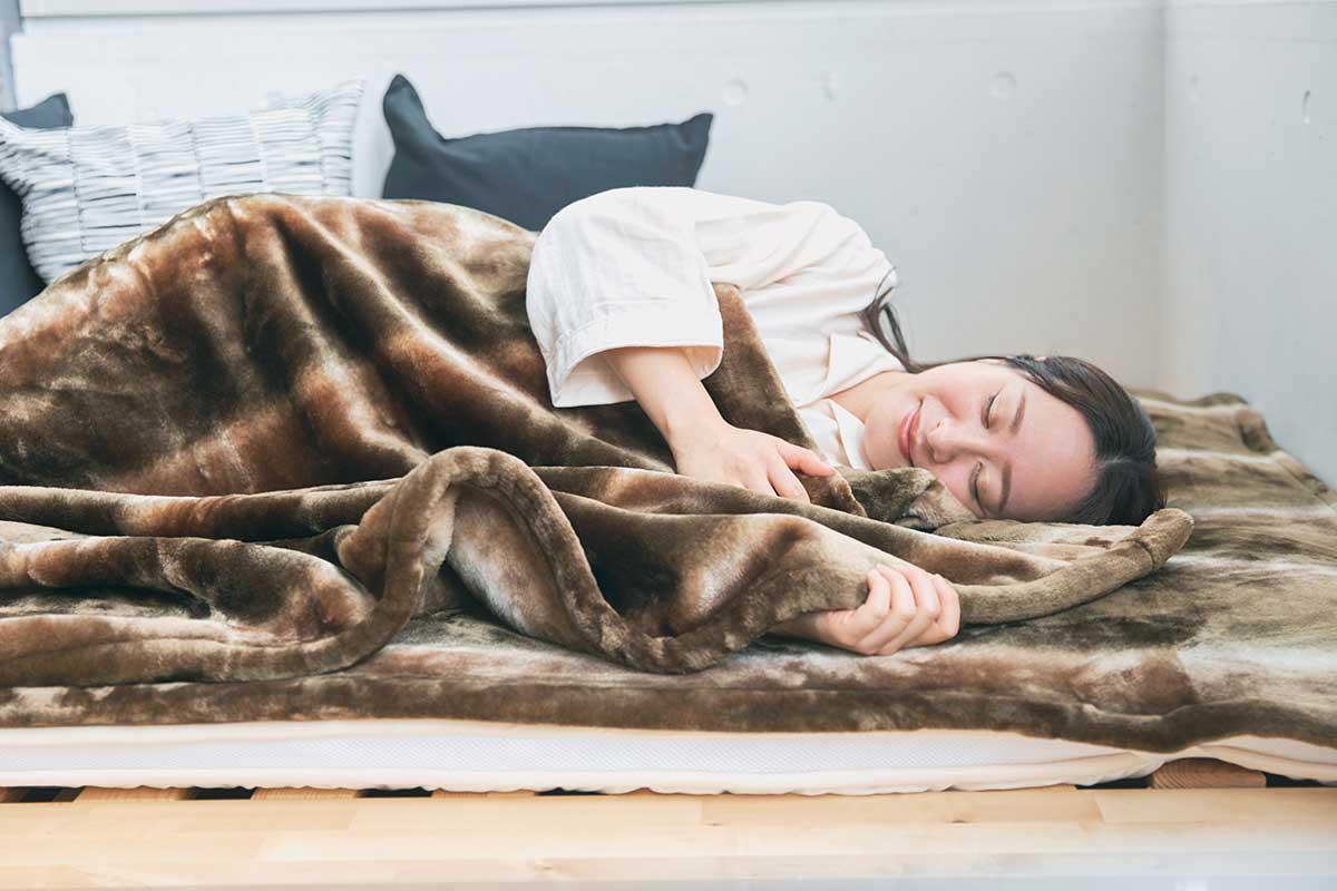 暖かい、柔らかい、軽い!暖かさはもう当たり前、軽さとなめらかさも実現した「毛布」|CALDONIDO NOTTEⅡ(カルドニード ノッテ)