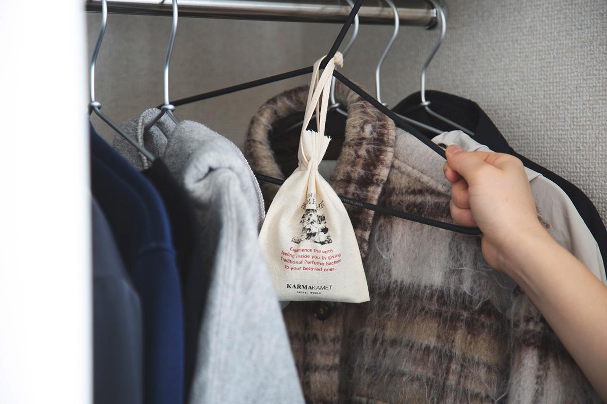 《クローゼットや衣服の引き出しに》着がやさしく香り、虫除けにもなるサシェ・匂い袋・香り袋|タイ王室御用達のアロマブランド『KARMAKAMET(カルマカメット)』