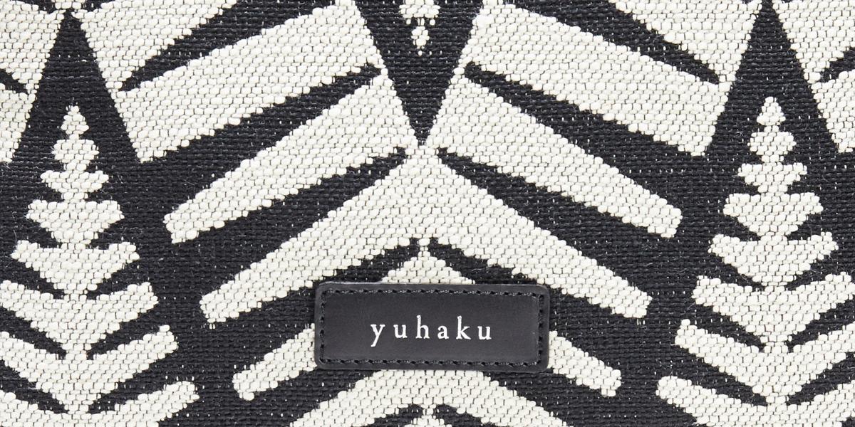 白 メンズ革ポーチ yuhaku
