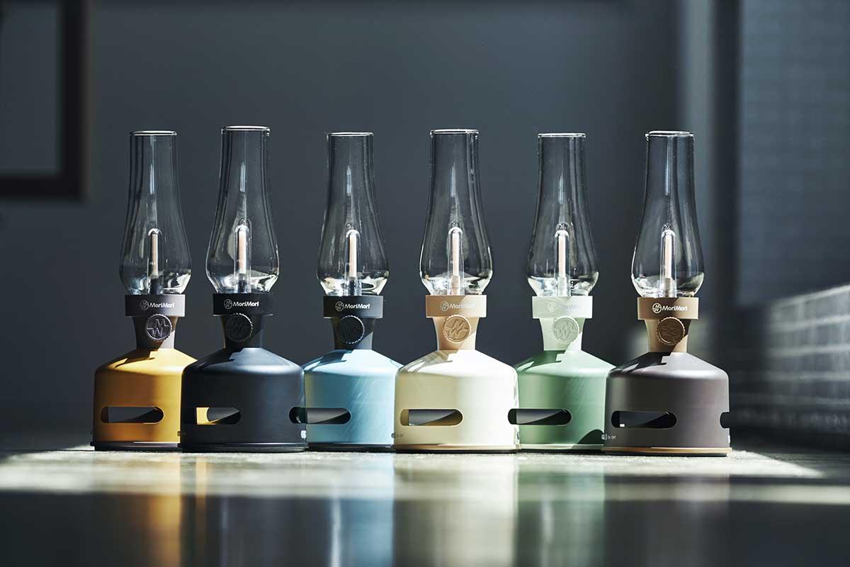 音楽と灯りのノスタルジックな化学変化、ワイヤレス接続でどこでも楽しめる「LEDランタンスピーカーS」|MoriMori(モリモリ)