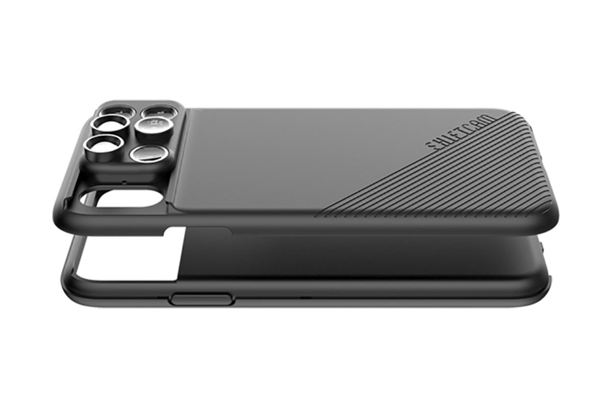 保護機能も強化されている安心のレンズ一体型のiPhoneケース、6種類のレンズ・バッグ付きのコンプリートセット | ShiftCam 2.0