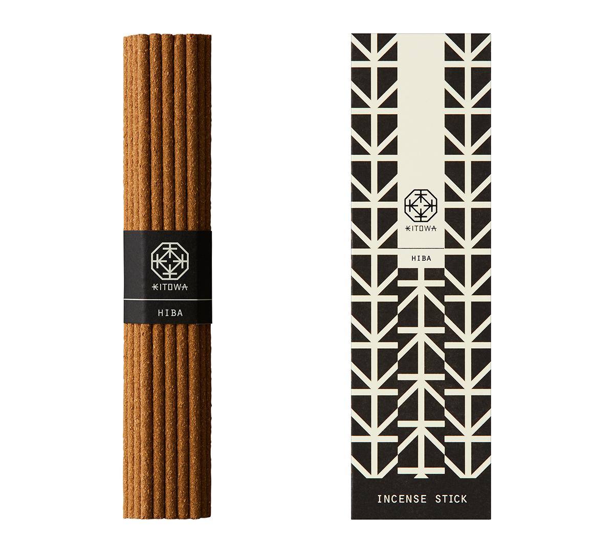 HIBA(青森ヒバ)|あなたの部屋がエグゼクティブスイートになる。伝統の薫香技術が生む「香り」で、空間の模様換えが叶うインセンススティック(お香)|KITOWA