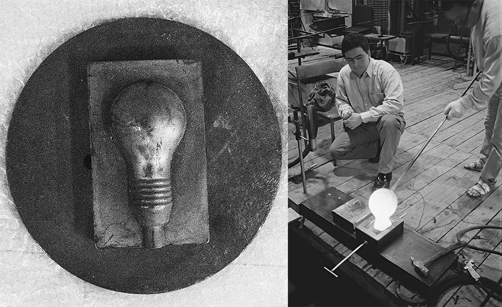 手作業で作られる幻想的な光の間接照明
