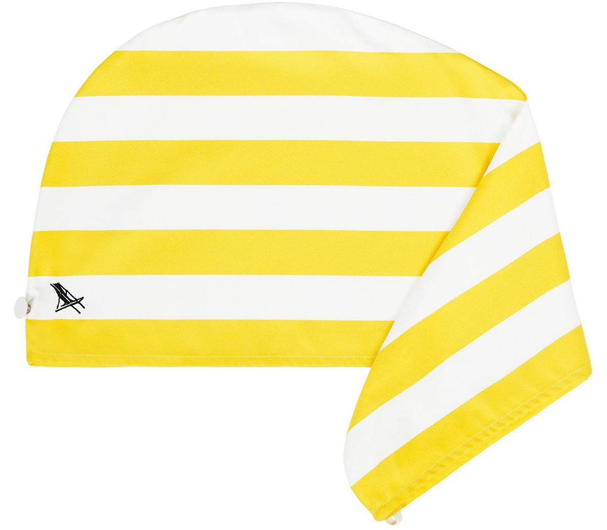フィリピン・ボラカイ島のイエロー(Boracay Yellow)水をサッと吸収、髪が素早く乾くマイクロファイバー製のカラフルタオル(ヘアラップ)|DOCK & BAY