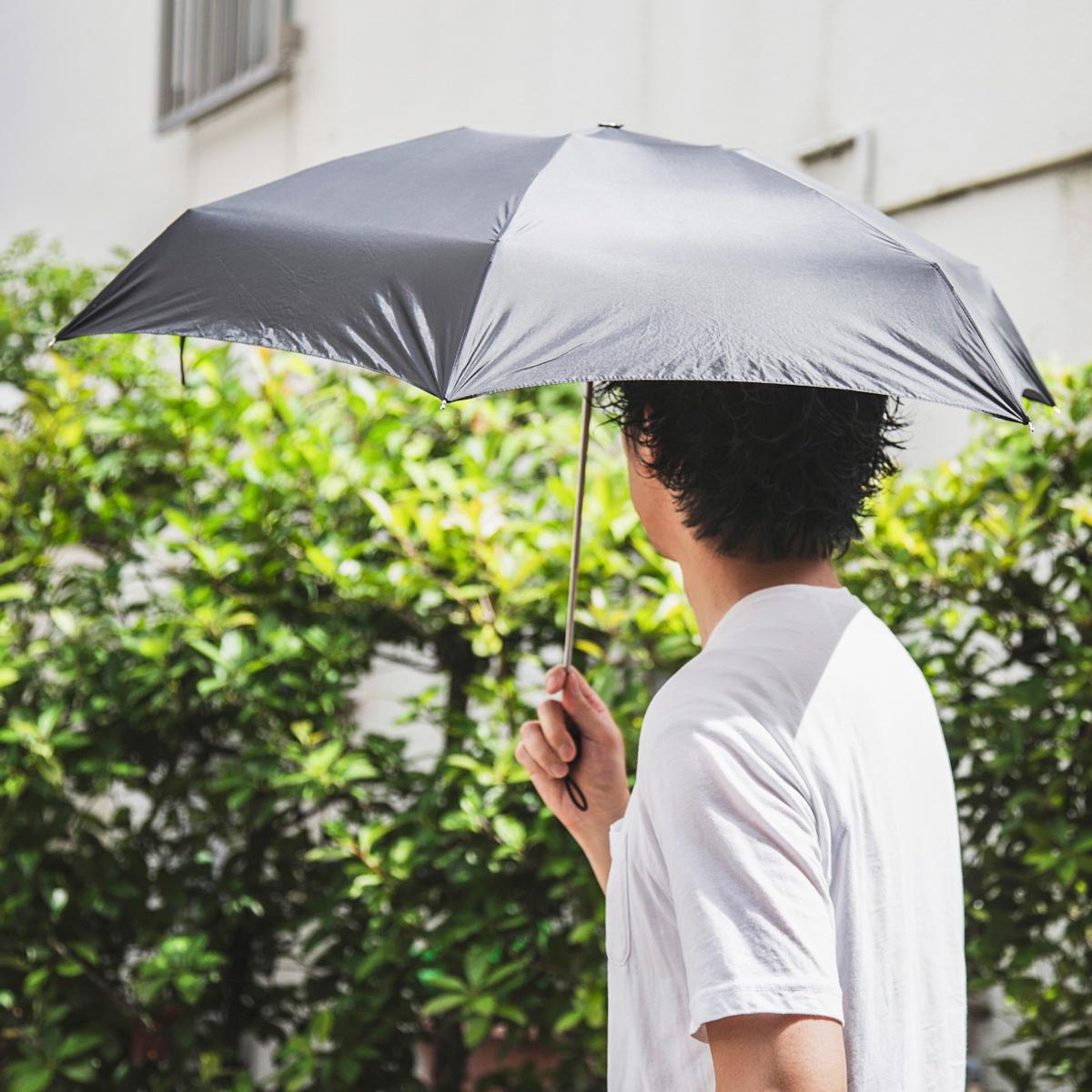 晴れの日の紫外線対策にも。軽く、強く、折れにくい、カンタン収納設計、わずか17cmの世界最小級折りたたみ傘「マイクロ傘」|スギタ
