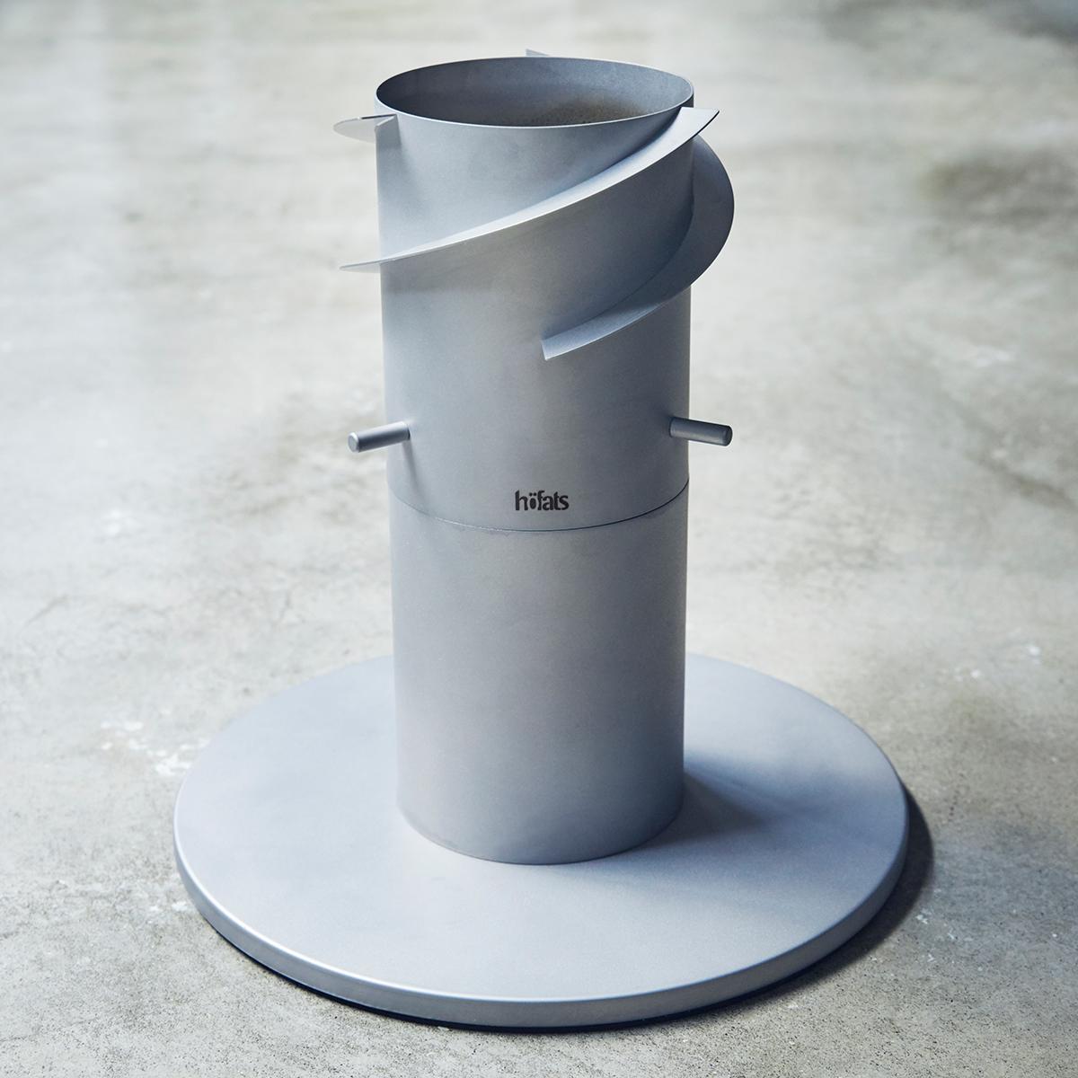 設置方法3|煙突効果で炎が廻りながら上昇!煙が出にくい安全燃料の「テーブルランタン&ガーデントーチ」|Hofats SPIN(ホーファッツ スピン)