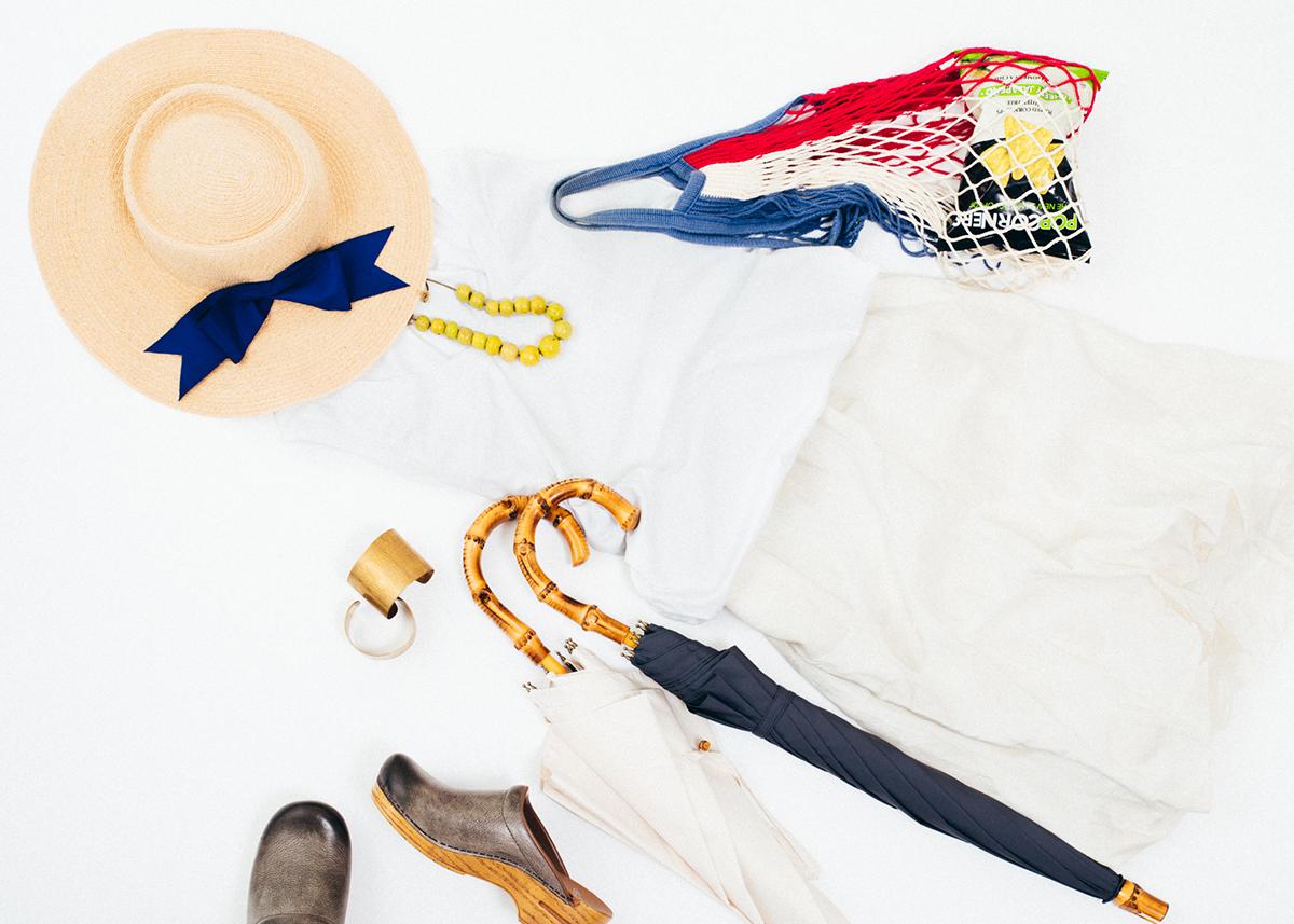エレガント、モード、カジュアル、様々なファッションになじむ「日傘・長傘」|BON BON STORE