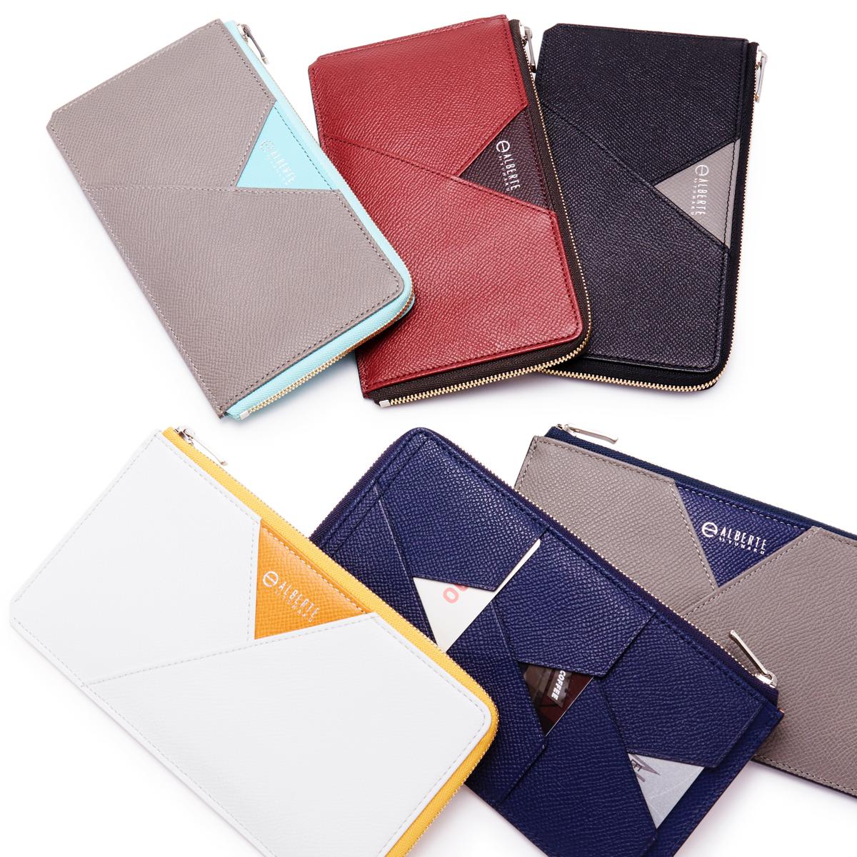 無理なくミニマムを極めた、「薄い財布」の傑作(ファスナー付き長財布)|ALBERTE