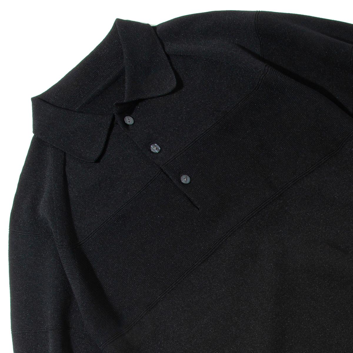 風通しがよくて、シャリシャリの和紙糸は、吸った汗をドンドン放出。汗でベタつかない、匂わない、綿より軽い!三拍子揃った「ニットポロシャツ」|伊予和紙ポロシャツ