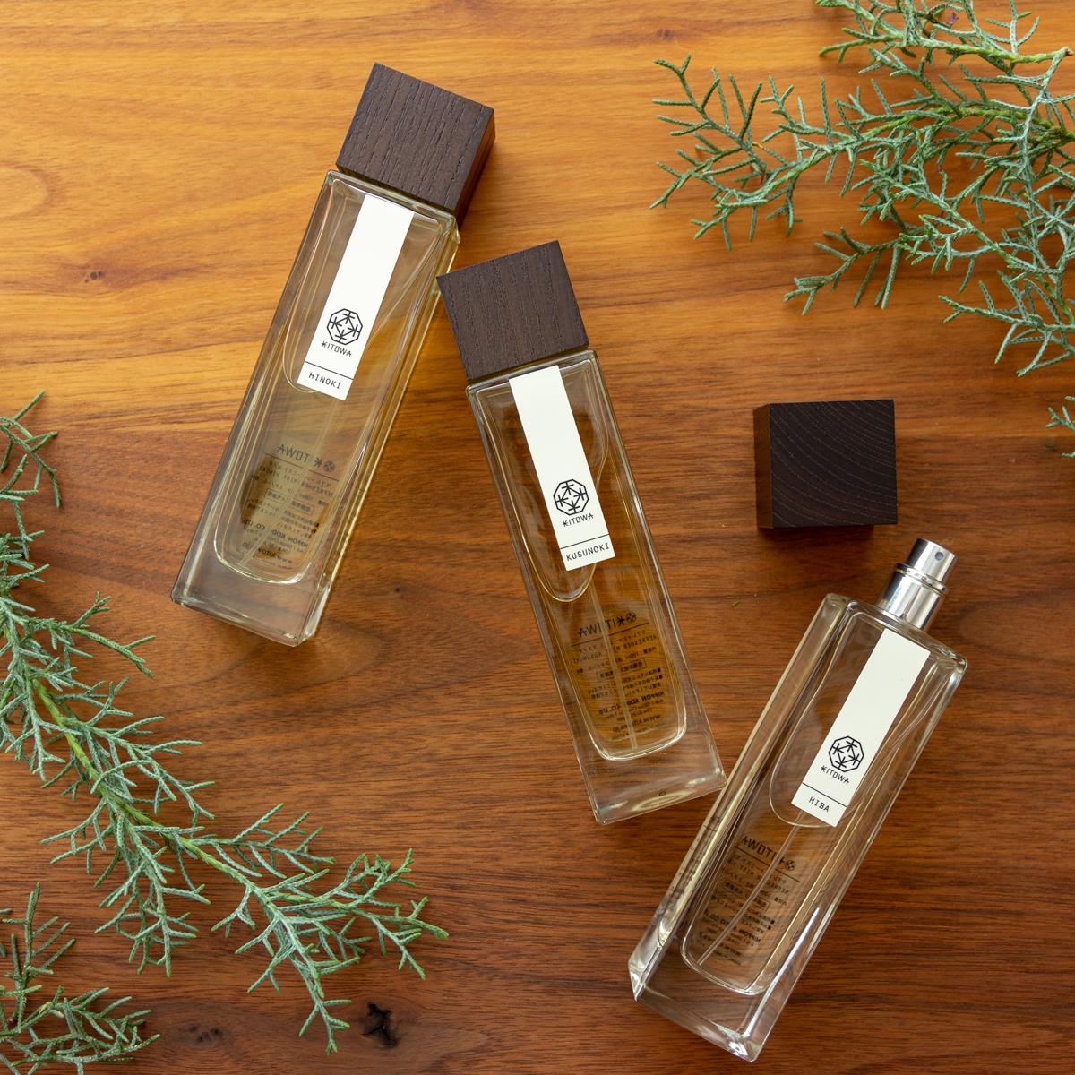 香りひとつで、エグゼクティブ空間に誘われる感覚になる。空間の質と景色が変わったように感じるリフレッシャーミスト(ルームフレグランス)|KITOWA