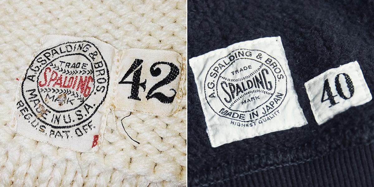 ネームタグ|コレクターが唸る、独自のディテールが魅力。スポルディング社の名作から、現存していない「ブラック」をMade in Japanで「トレーニングシャツ」|A.G. Spalding & Bros