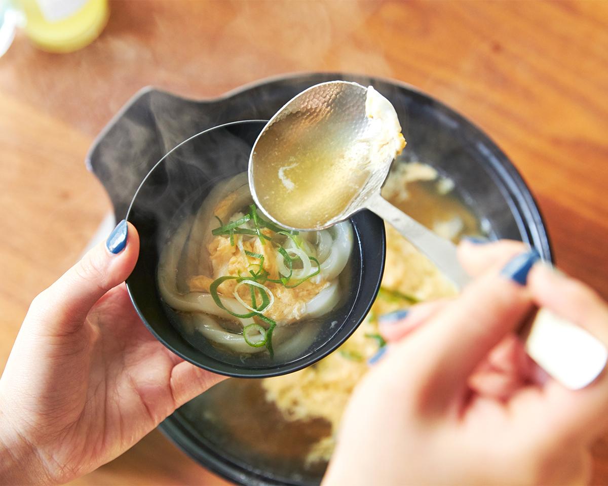 最後の一滴まで美味しくいただける、絶品の鍋。飲めるポン酢&特製だし付き「名古屋コーチンしゃぶしゃぶセット(もも肉・むね肉)」|錦爽(きんそう)|丸トポートリー食品