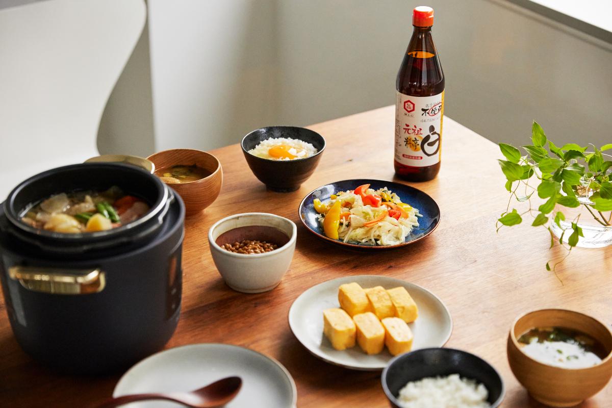 化学調味料や食品添加物は一切不使用。オーガニックな旨味調味料|日本で唯一の有機白醤油と枕崎産本枯節を使った「白だしの元祖」万能調味料|七福醸造の元祖料亭白だし