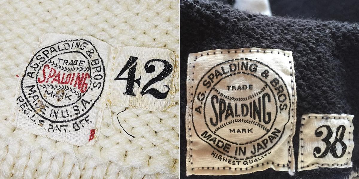ネームタグ - A.G. Spalding & Bros(AG スポルディング & ブロス)のヴィンテージ完全復刻版のパーカー・スウェット